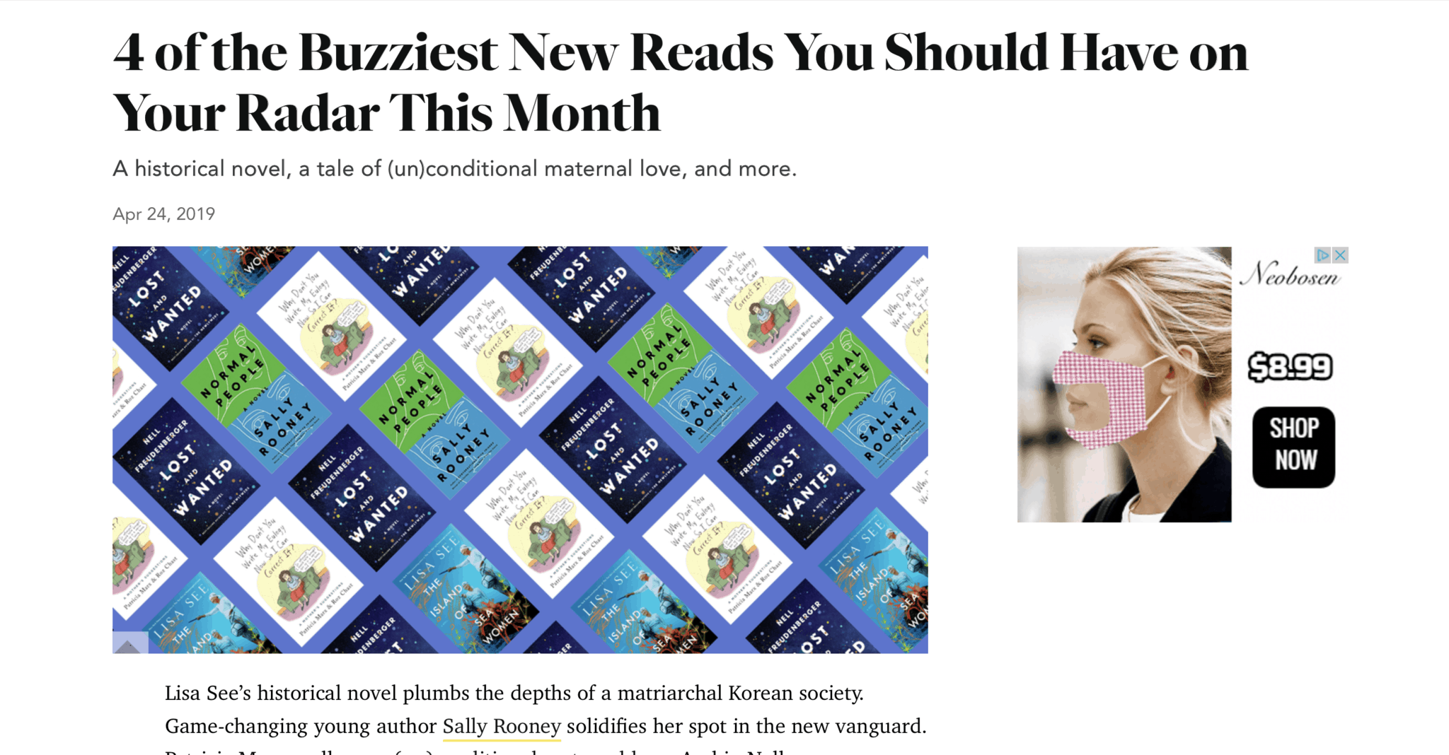 "Island of Sea Women among the Most ""Buzziest"" of Reads, According to Oprah Magazine"