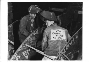 """""""Exhibitions on Asian American Experience"""" (Photo Credit: Hearst Collection, Dept. of Special Collections, USC Library)"""